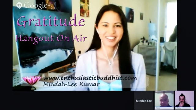 www.enthusiasticbuddhist - gratitude hangout