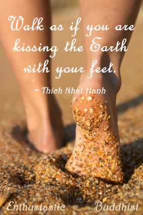thich nhat hanh kissing the earth